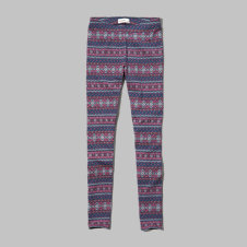 girls fair isle print leggings