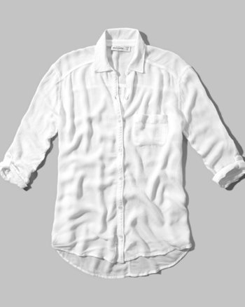 kids lightweight boyfriend shirt