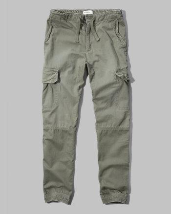 kids a&f cargo jogger pants
