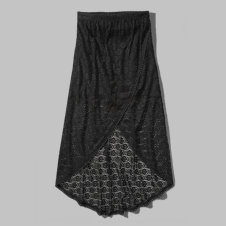 girls lace maxi skirt