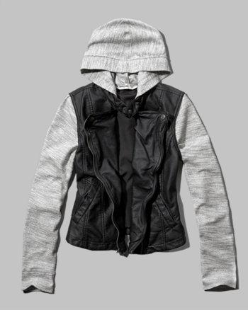 kids faux leather biker jacket