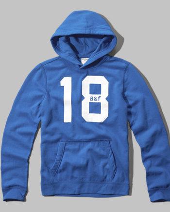 kids varsity logo hoodie