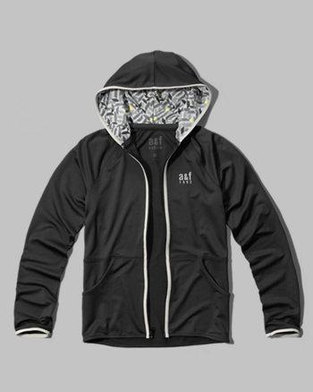 kids active logo hoodie