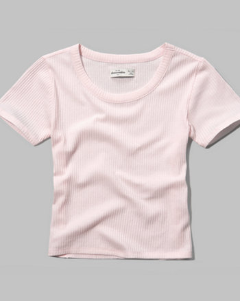 kids ribbed baby tee