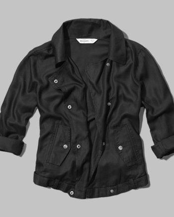 kids drapey jacket