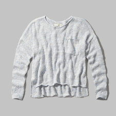 girls pocket sweater
