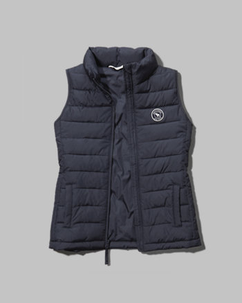 kids quilted puffer vest