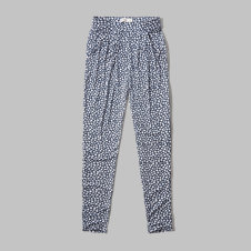 girls knit harem pants