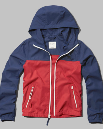 kids colorblock windbreaker
