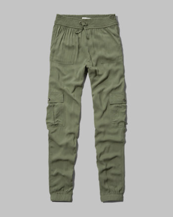 kids drapey cargo pants