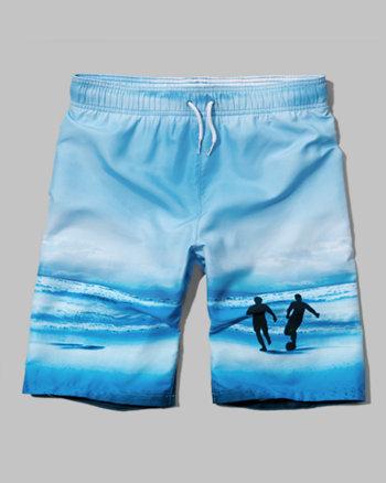 kids a&f board shorts