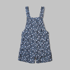 girls pattern shortalls