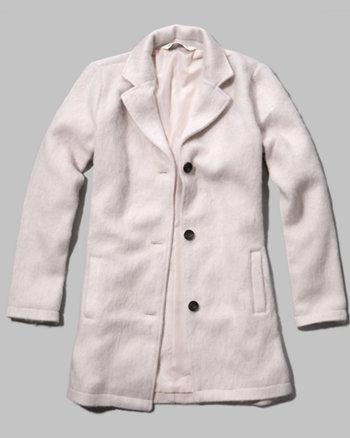 kids classic button coat