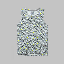 girls logo active tank