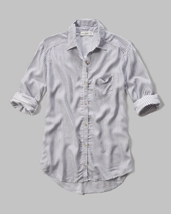 kids drapey pocket shirt