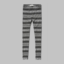 girls a&f pattern leggings
