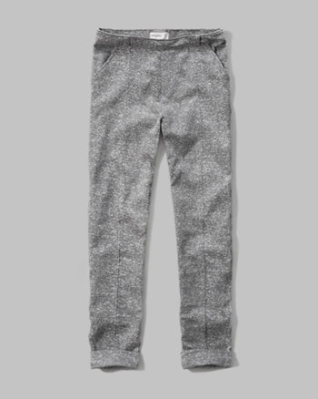 kids ponte ankle pants