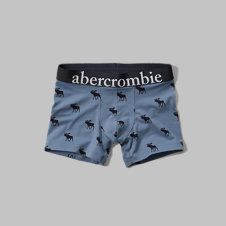 girls Moose Print Boxer Briefs
