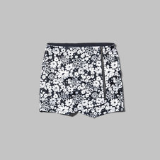 girls floral neoprene wrap skirt