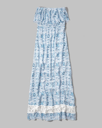 kids printed maxi dress