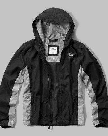 kids a&f active windbreaker