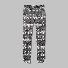 girls pattern skinny ankle pants