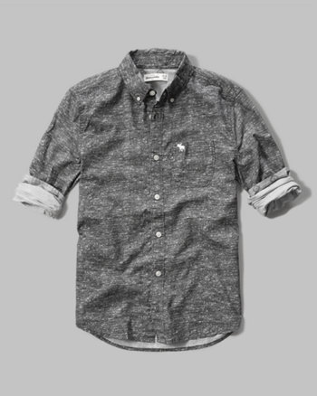 kids patterned classic shirt