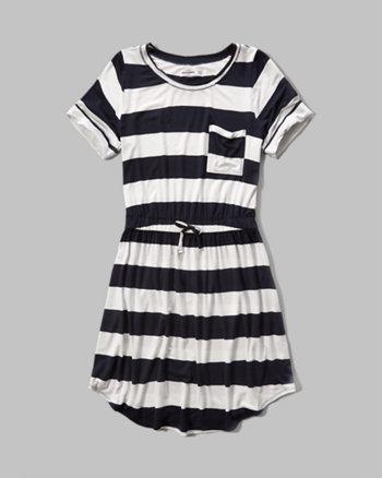 kids drapey t-shirt dress