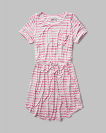 kids drapey t-shirt dress