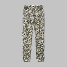 girls patterned drapey pants