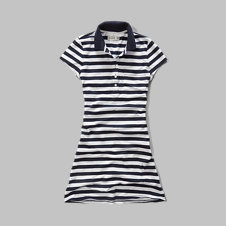 girls polo shift dress