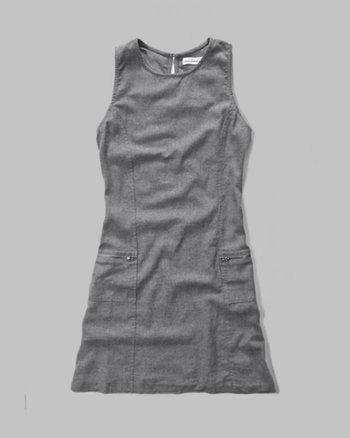 kids a-line zip pocket dress