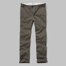girls a&f classic chinos