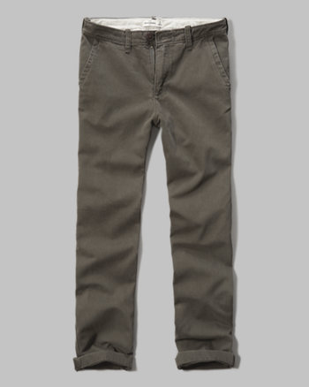 kids a&f classic chinos