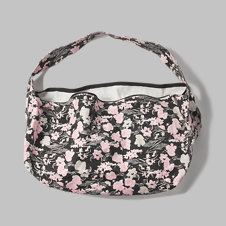 girls patterned hobo bag