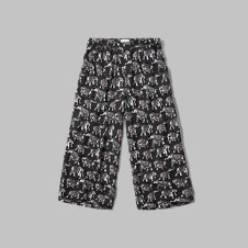 girls Pattern Gaucho Pants