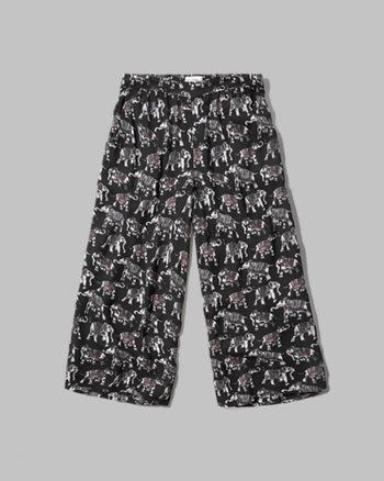 kids Pattern Gaucho Pants