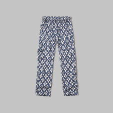 girls Pattern Drapey Pants