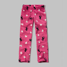 girls printed sleep pants
