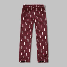 girls fleece sleep pants