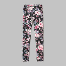 girls patterned ponte leggings