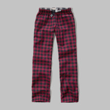 girls plaid fleece pants