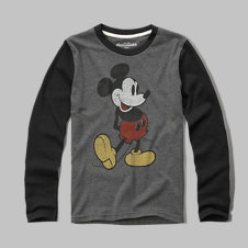 girls Mickey Mouse graphic tee