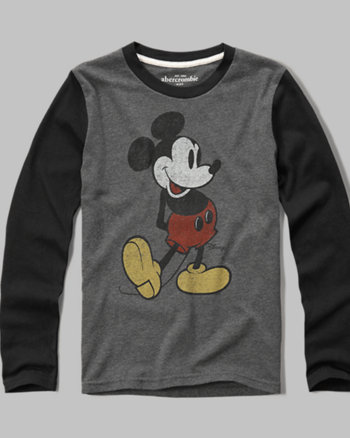 kids Mickey Mouse graphic tee