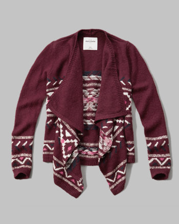 kids blanket cardigan