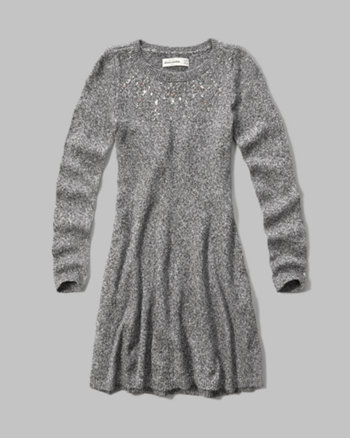 kids sweater skater dress