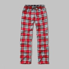 girls plaid sleep pants