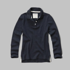 girls Long Sleeve Polo