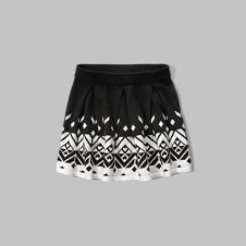 girls patterned sweater skirt