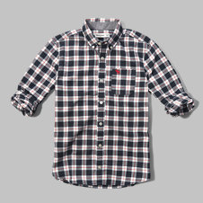 girls patterned poplin shirt